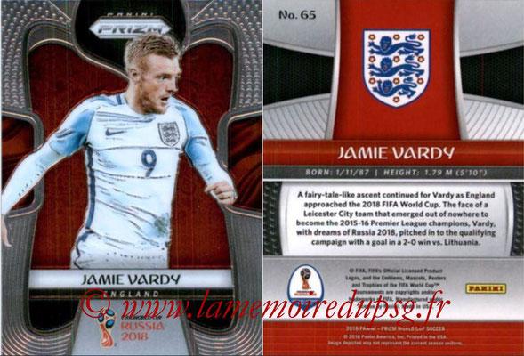 2018 - Panini Prizm FIFA World Cup Russia - N° 065 - Jamie VARDY (Angleterre)