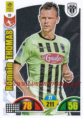 2018-19 - Panini Adrenalyn XL Ligue 1 - N° 022 - Romain THOMAS (Angers)