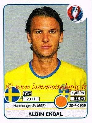 Panini Euro 2016 Stickers - N° 558 - Albin EKDAL (Suède)
