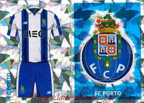 2016-17 - Topps UEFA Champions League Stickers - N° QFJ 1-2 - Logo + Maillot Domicile (FC Porto)
