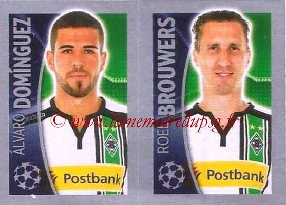 2015-16 - Topps UEFA Champions League Stickers - N° 291 - Alvaro DOMINGUEZ + Roel BROUWERS (VfL Borussia Mönchengladbach)