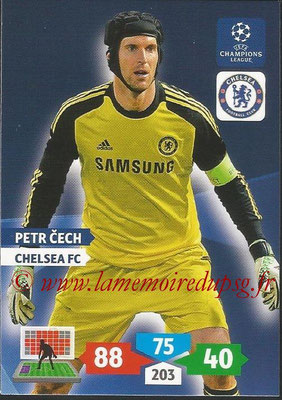 2013-14 - Adrenalyn XL champions League N° 118 - Petr CECH (Chelsea FC)