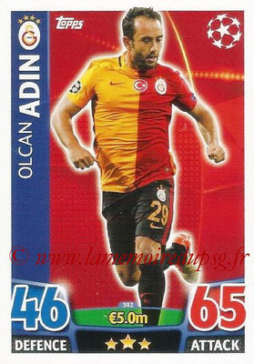 2015-16 - Topps UEFA Champions League Match Attax - N° 392 - Olcan ADIN (Galatasaray AS)