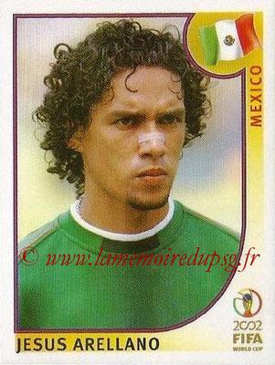 2002 - Panini FIFA World Cup Stickers - N° 506 - Jesus ARELLANO (Mexique)