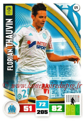 2016-17 - Panini Adrenalyn XL Ligue 1 - N° 171 - Florian THAUVIN (Marseille)