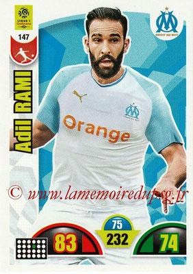2018-19 - Panini Adrenalyn XL Ligue 1 - N° 147 - Adil RAMI (Marseille)