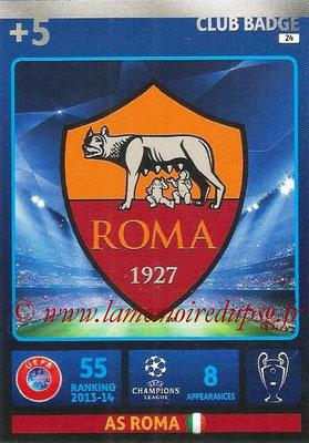 2014-15 - Adrenalyn XL champions League N° 024 - Logo AS Roma (Club Badge)