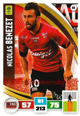 2016-17 - Panini Adrenalyn XL Ligue 1 - N° 098 - Nicolas BENEZET (Guingamp)