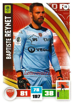 2016-17 - Panini Adrenalyn XL Ligue 1 - N° 073 - Baptiste REYNET (Dijon)
