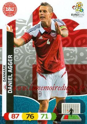 Panini Euro 2012 Cards Adrenalyn XL - N° 015 - Daniel AGGER (Danemark)