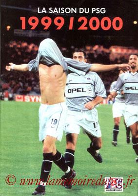 2000-07-xx - La saison du PSG 1999-2000 N°1 (Edition PSG, 82 pages)