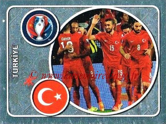 Panini Euro 2016 Stickers - N° 349 - Équipe de Turquie