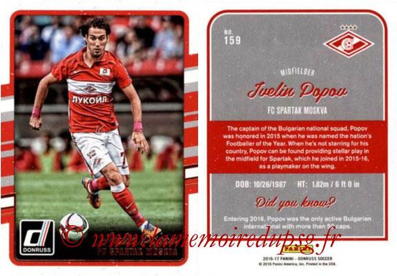 2016 - Panini Donruss Cards - N° 159 - Ivelin POPOV (Spartak Moscou)