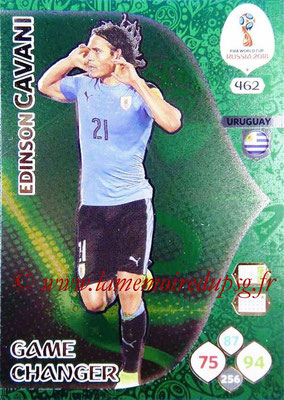 2018 - Panini FIFA World Cup Russia Adrenalyn XL - N° 462 - Edinson CAVANI (Uruguay) (Game Changer)