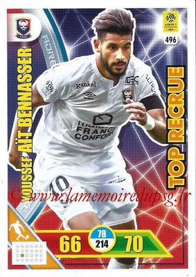 2017-18 - Panini Adrenalyn XL Ligue 1 - N° 496 - Youssef AÏT BENNASSER (Caen) (Top Recrue)