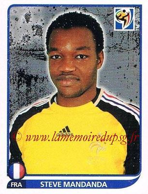 2010 - Panini FIFA World Cup South Africa Stickers - N° 090 - Steve MANDANDA (France)