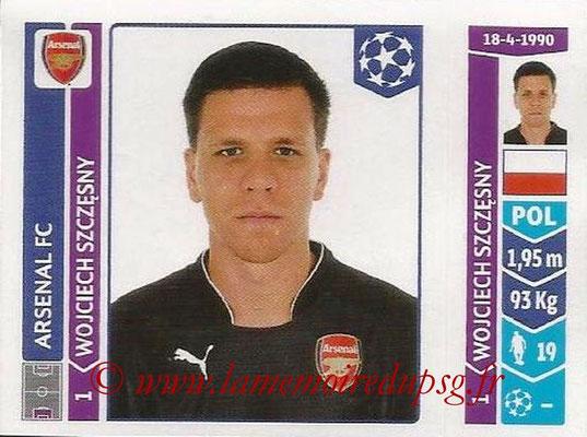 2014-15 - Panini Champions League N° 253 - Wojciech SZCZESNY (Arsenal FC)