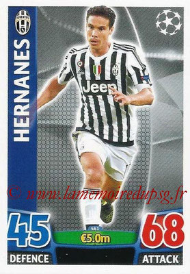2015-16 - Topps UEFA Champions League Match Attax - N° 461 - HERNANES (Juventus FC)