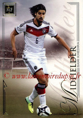2014 - Futera World Football Unique - N° 046 - Sami KHEDIRA (Midfielder)
