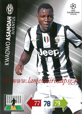 2012-13 - Adrenalyn XL champions League N° 117 - Kwadwo ASAMOAH (Juventus FC)