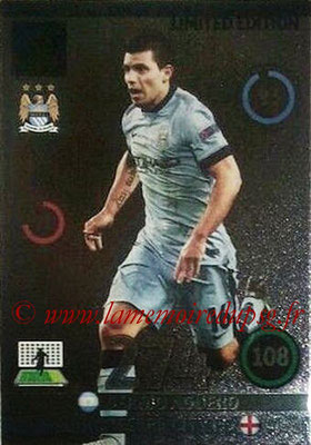 2014-15 - Adrenalyn XL champions League Update edition N° LEU-SA - Sergio AGUERO (Manchester City) (Limited Edition)
