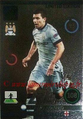 2014-15 - Adrenalyn XL champions League Update edition N° LEU-SA - Sergio AGUERO (Manchester City) (Limited Edition)