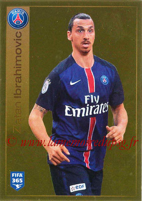 2015-16 - Panini FIFA 365 Stickers - N° 449 - Zlatan IBRAHIMOVIC (Paris Saint-Germain)