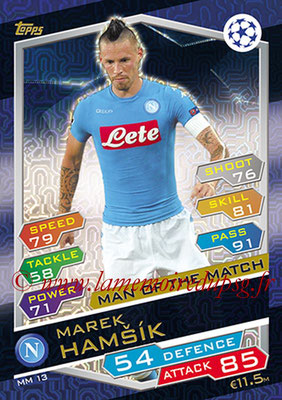 2016-17 - Topps UEFA Champions League Match Attax - N° MM13 - Marek HAMSIK (SSC Naples) (Man of the Match)
