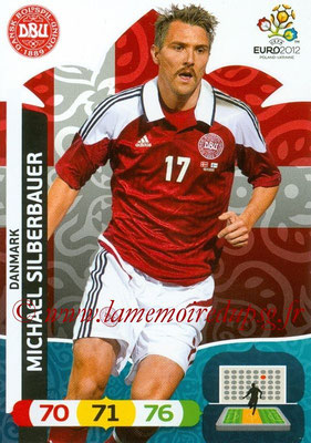 Panini Euro 2012 Cards Adrenalyn XL - N° 022 - Michael SILBERBAUER (Danemark)