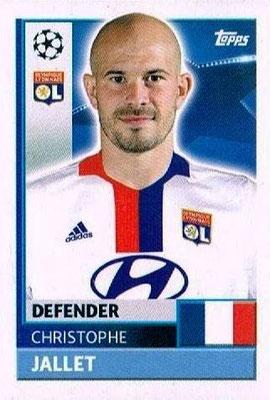 N° LYO 6 - Christophe JALLET (2009-14, PSG > 2016-17, Olympique Lyonnais)