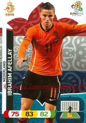 Panini Euro 2012 Cards Adrenalyn XL - N° 139 - Ibrahim AFELLAY (Pays-Bas)