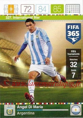 N° 327 - Angel DI MARIA (Argentine) (International Star)