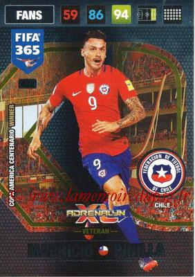 2016-17 - Panini Adrenalyn XL FIFA 365 - N° 422 - Mauricio PINILLA (Chili) (Veteran)