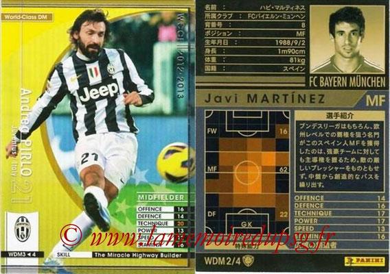 2012-13 - WCCF - N° WDM3 - Andrea PIRLO (Juventus FC) (World Class DM)