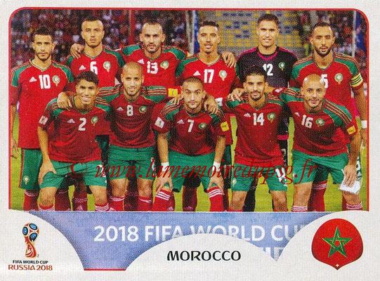 2018 - Panini FIFA World Cup Russia Stickers - N° 153 - Equipe Maroc