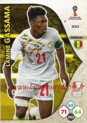 2018 - Panini FIFA World Cup Russia Adrenalyn XL - N° 300 - Lamine GASSAMA (Senegal)