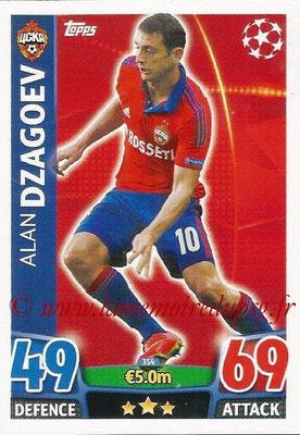 2015-16 - Topps UEFA Champions League Match Attax - N° 353 - Alan DZAGOEV (CSKA Moscou)