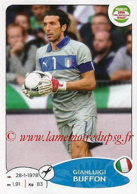 2014 - Panini Road to FIFA World Cup Brazil Stickers - N° 019 - Gianluigi BUFFON (Italie)