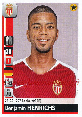2018-19 - Panini Ligue 1 Stickers - N° 231 - Benjamin HENRICHS (Monaco)