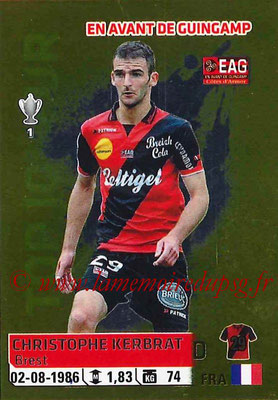 2014-15 - Panini Ligue 1 Stickers - N° 120 - Christophe KERBRAT (EA Guingamp)