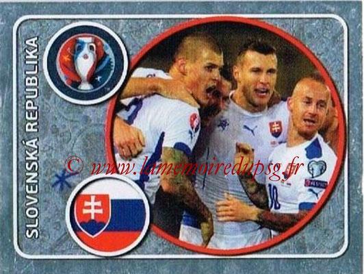 Panini Euro 2016 Stickers - N° 127 - Équipe de Slovénie