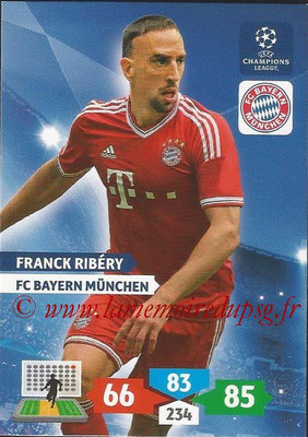 2013-14 - Adrenalyn XL champions League N° 085 - Franck RIBERY (FC Bayern Munich)