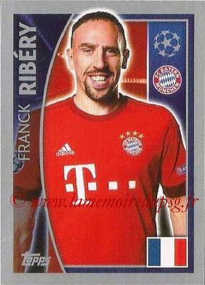2015-16 - Topps UEFA Champions League Stickers - N° 384 - Franck RIBÉRY (FC Bayern Munich)