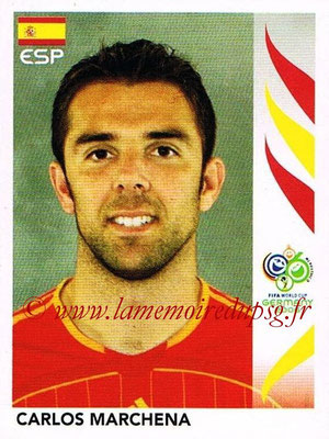 2006 - Panini FIFA World Cup Germany Stickers - N° 534 - Carlos MARCHENA (Espagne)