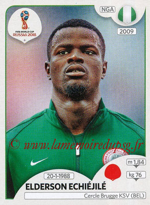 2018 - Panini FIFA World Cup Russia Stickers - N° 335 - Elderson ECHIEJILE (Nigeria)