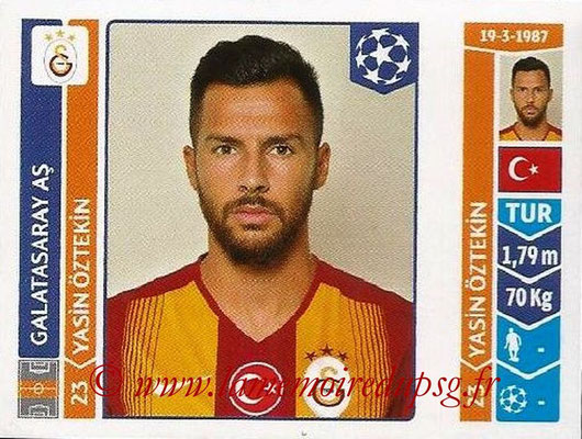 2014-15 - Panini Champions League N° 304 - Yasin OSTEKIN (Galatasaray AS)