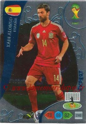 2014 - Panini FIFA World Cup Brazil Adrenalyn XL - N° 382 - Xabi ALONSO (Espagne) (Expert)