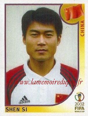2002 - Panini FIFA World Cup Stickers - N° 215 - Shen SI (Chine)