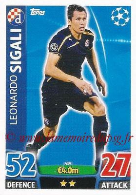 2015-16 - Topps UEFA Champions League Match Attax - N° 419 - Leonardo SIGALI (GNK Dinamo Zagreb)