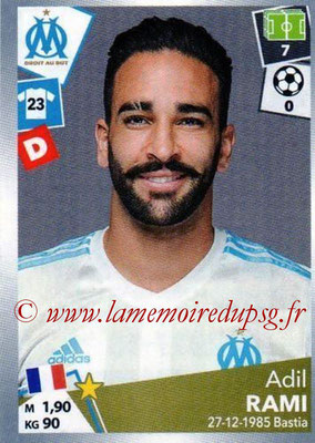 2017-18 - Panini Ligue 1 Stickers - N° 214 - Adil RAMI (Marseille)